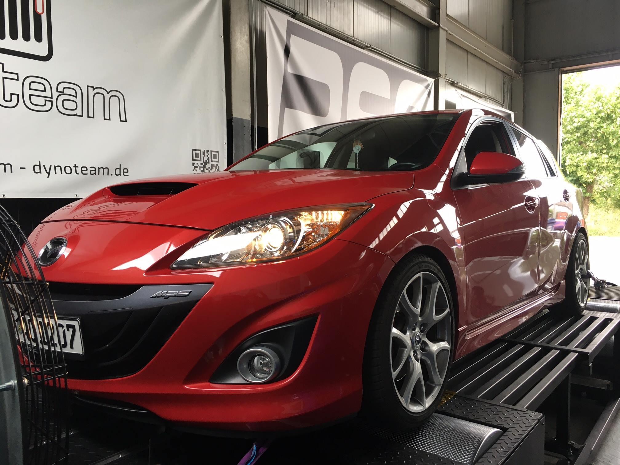Mazda 3 MPS RSC Abstimmung
